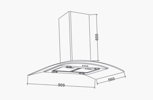 CROWN-ISOLA-90_Diagram hood island nagold hafele bangalore