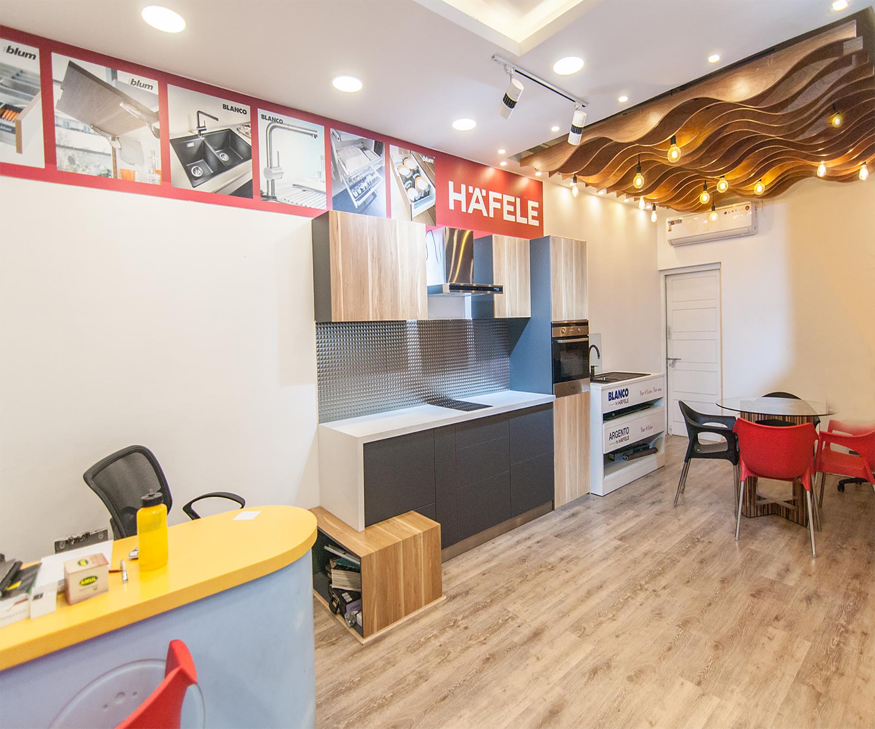 Hafele exclusive showroom design studio hsr layout for Design appartement hafele