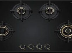 zeta-480-built-in-4- brass burner-gas-hob by WS Hafele